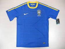 0952 NIKE TG XL BRASIL BRASIL BRAZIL CAMISETA UNA MANERA 2010 SHIRT JERSEY