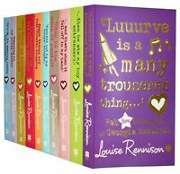Louise Rennison Collection 11 Books Set New RRP £ 75.89