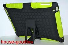 Green Strong Heavy Duty Tradesman TPU Hard Stand Case Cover for iPad 2 3 4