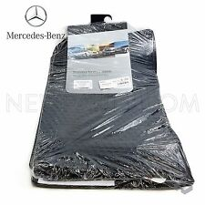 Genuine For Mercedes Benz All Weather Black Rubber Floor Mats 03-09 E Class W211