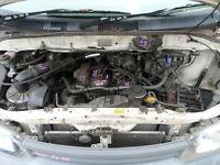 2001 Toyota SBV Hiace Radiator Overflow Bottle S/N# V6661 BG8213