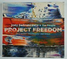 Project Freedom by Joey DeFrancesco (CD, Mar-2017) Promo