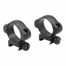 30mm Medium Profile Tactical Rifle Scope Steel Rings Picatinny Weaver Rail SR-34