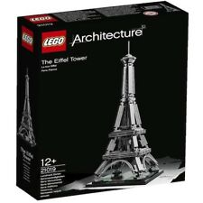 New & sealed Lego Architecture Eiffel Tower 21019 Paris France Retired rare