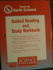 Prentice Hall EARTH Science 6th Grade 6 Guided Reading and Study Workbook