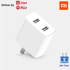 Xiaomi QC3.0 USB Power Adapter Dual USB Wall Charger For iPhone Xiaomi AU