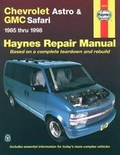 Haynes Automotive Repair Manual Chevrolet Chevy Astro GMC Safari Mini-Vans 24010