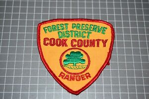 Cook County Illinois Forest Preserve District Ranger Patch (US-Pol)