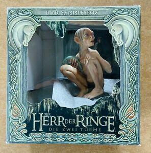 Herr der Ringe - Die zwei Türme - DVD Sammlerbox - Gollum - Neu