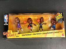 NBA Court Collection Game Names! Pack Mattel 1999 Malone Payton Robinson Hardway