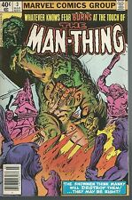 Man-Thing 3. Marvel 1980.Tres Bon Etat  SF45