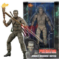 "NECA Predator Jungle Disguise Dutch 30th Anniversary 7"" Action Figure Doll New"