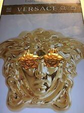 Versace Medusa Earrings 18k Gold Plated Silver