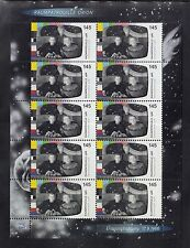 "A 31 ) Germany 2016  Space Patrol ""Orion""   Sheet 10 MNH Stamps"