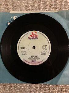 """EVELYN THOMAS Weak Spot / Dancin' Is My Weak Spot UK 7"""" Vinyl Record"""