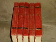 Gustave Flaubert Selected Works 1-5 Hardcover Russian 1956