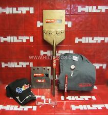 Hilti Floor Scrapers Sds-Max, L@K,Free Blade T-Shirt,Safety Glass,Fast Ship