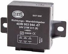 4DW 003 944-071 Hella Flasher Unidad 6 Pin 24 V