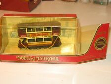 "Matchbox MoY Preston Type Tram ""Zebra Grate Polish"" (Y15-D) M/B"