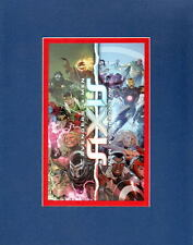 AVENGERS - X-MEN SIXIS PRINT PROFESSIONALLY MATTED Marvel