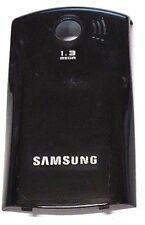 Samsung E2550 Black Cellphone Battery Door Back Cover Housing Case OEM