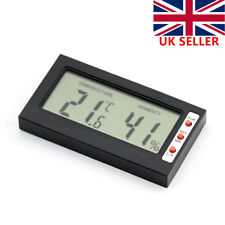 Digital LCD Thermometer Temperature Humidity Meter Hygrometer Indoor Room Gauge