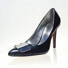 Women's Sole Society Rory Dark Blue Metallic Pointed Toe Pumps Size 5.5 M NEW!