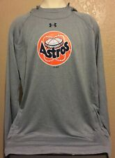 Houston Astros Official Under Armour Astrodome LOGO Gray Sweatshirt Hoodie 5XL