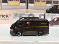 1/64 TINY Hong Kong CAR 135 -Toyota Hiace UPS ATC64369