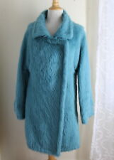 Maria Pinto Sz S 4/6 Unreal Art-to-Wear Dyed Fur Mohair Coat - Instant Legend