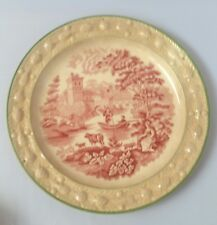 Mid 1800's Wm Adams Italian Scenery transfer plate
