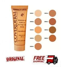 COVERDERM PERFECT LEGS  - 9 SHADES TO CHOOSE   WATERPROOF MAKE UP 50ml