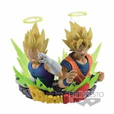 Dragonball Z Figuration Vol. 2 Bust SSJ Goku & Vegeta 7 cm Banpresto Statue