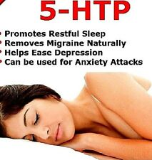 5-HTP 100mg 60 Tablets Antidepressant Anxiety Insomnia Supplement (Lindens)