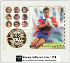 2003 Select NRL XL Trading Cards Team Of The Year TY5 Andrew Johns (Knights)