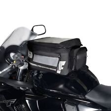 Oxford F1 S18 Mini Motorcycle Tank Bag Strap-On Motorbike Luggage Black