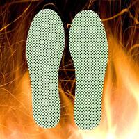 1 par Zapatos autocalentados Turmalina Cálida Plantillas Cojín de pie Inserción