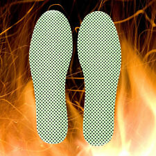 1Pair Green Warm Tourmaline Self Heated Shoes Insoles Insert Foot Cushion PadjbG