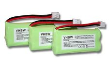 3xbatteries pour Siemens Gigaset S30852-d1640-x1 / V30145-k1310-x359