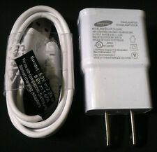 OEM Samsung 2A Wall Charger & 4ft Micro USB Cable For Galaxy S4 S3 S2 Note 2 3
