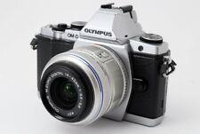Olympus OM-D E-M5 16.1 MP 14-42mm Lens Kit Silver [Exc w/Box,8GB SD [476]