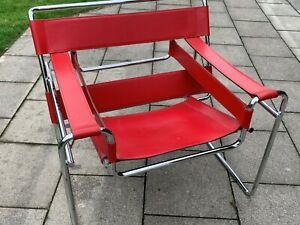 Wassily Chair - Sessel Marcel Breuer, Designerstück - wie NEU