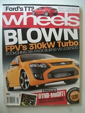WHEELS JUNE 2008,FPV F6,FPV GT,HSV GTS,G6ET,CALAIS V V8,BMW X6,BENZ CLC,LOTUS