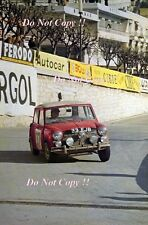 Paddy Hopkirk Mini Cooper S 33 EJB Winner Monte Carlo Rally 1964 Photograph 2