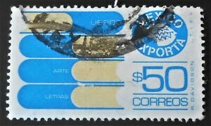 Mexico - Mexique - 1983 Defintive Mexican Exports 50 $ Books used (7) -