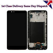 Black Full LCD display écran tactile avec cadre pour LG Stylus 2 LS775 K520 UK