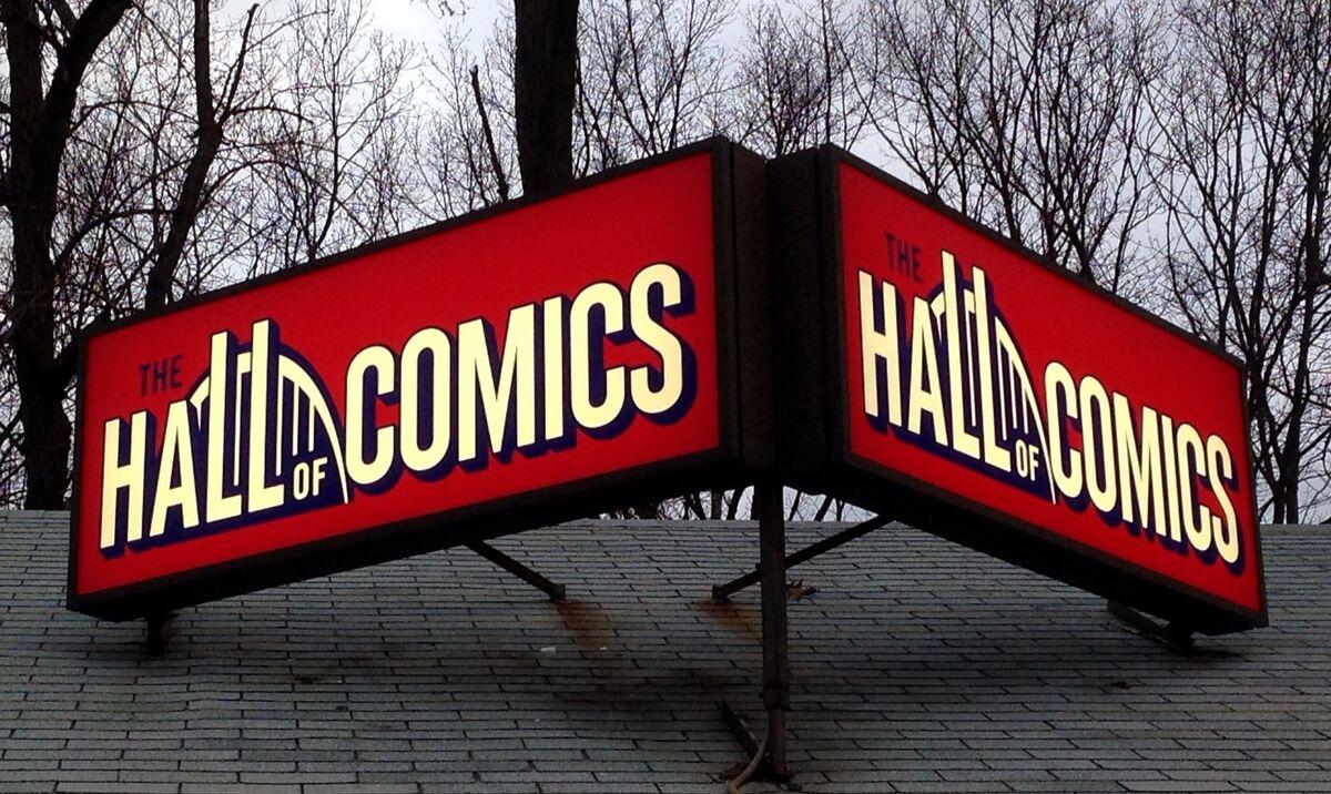 The Real Hall of Comics