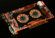 Grafikkarte ASUS A9800XT, Radeon 9800 XT, 256MB, DDR1, AGP, DVI, VGA, S-Video