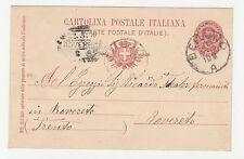 FRANCOBOLLI 1899 REGNO C. 10 DA BELLUNO PER L'AUSTRIA A/7916