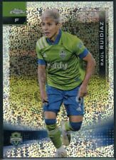 New listing 2021 Topps Chrome MLS Raul Ruidiaz Speckled Refractor SP